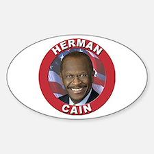 Herman Cain Decal