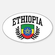 Ethiopia Sticker (Oval)
