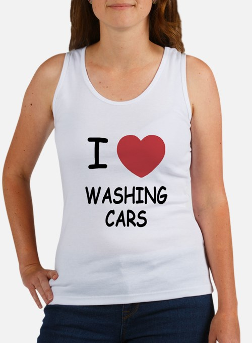 I heart washing cars Women's Tank Top