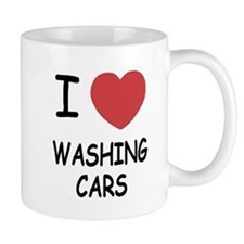 I heart washing cars Mug