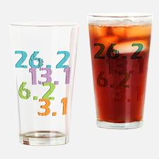 runner distances Pint Glass