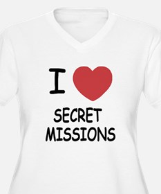 I heart secret missions T-Shirt