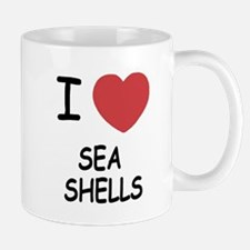 I heart sea shells Mug
