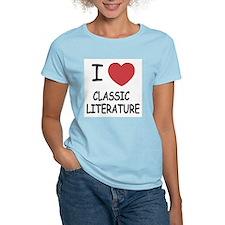 I heart classic literature T-Shirt