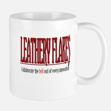 Leathery Flakes Collaboration Mug