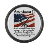 2nd amendment Giant Clocks