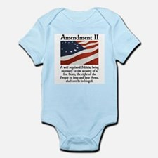 2nd Amendment Infant Bodysuit
