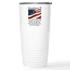 2nd Amendment Travel Coffee Mug