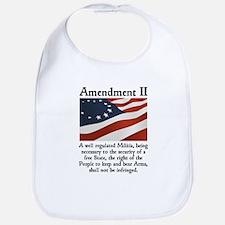 2nd Amendment Bib