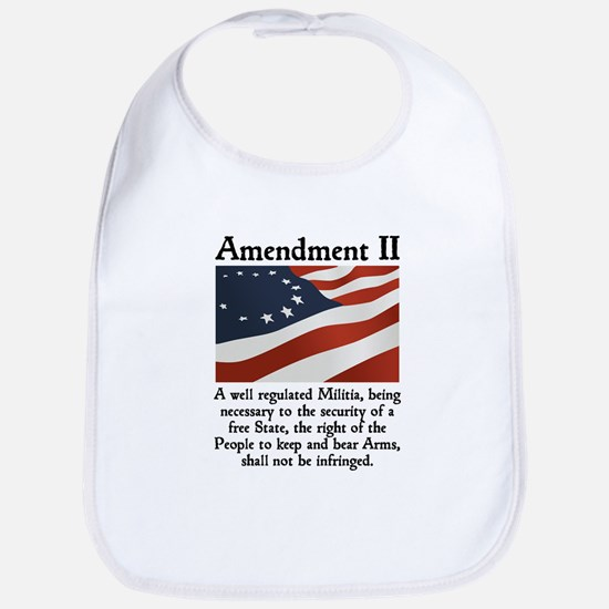 2nd Amendment Bib