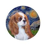 "Starry / Cavalier Pup (BL) 3.5"" Button"