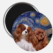 Starry/2 Cavalier (Bl+R) Magnet