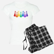 Ukulele Rainbow pajamas