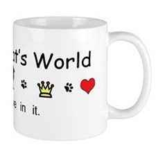 It's My Cat's World Mug