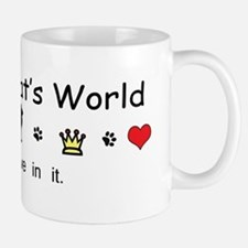 It's My Cat's World Small Small Mug