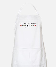 It's My Cat's World Apron