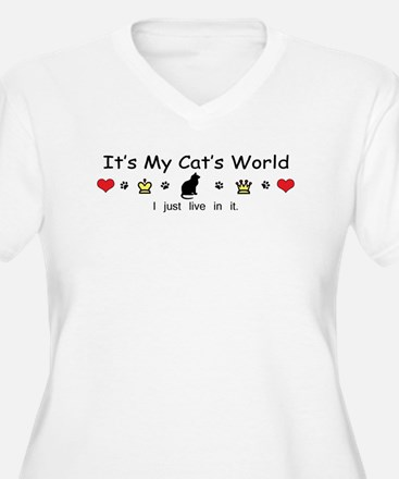 It's My Cat's World T-Shirt