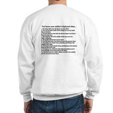 Soldier's Sweetheart You Know Your... Sweatshirt