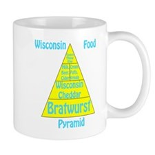 Wisconsin Food Pyramid Mug
