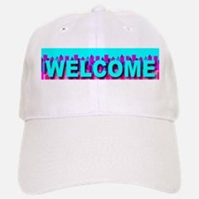 Welcome Skyline Baseball Baseball Cap