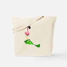 Flamingo & Gator Tote Bag