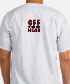 Off with his Head skull shirt