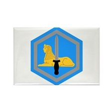 Cute Army intelligence Rectangle Magnet (100 pack)
