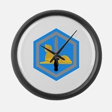 Funny Army intelligence Large Wall Clock