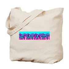 We Have A Spy Skyline Design Tote Bag