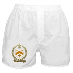 BOURGOIN Family Crest Boxer Shorts