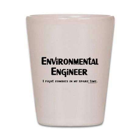 Environmental Engineer Gamer Shot Glass