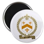 BOURGOIN Family Crest Magnet