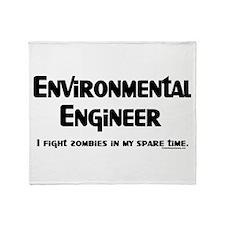 Environmental Engineer Gamer Throw Blanket