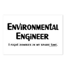 Environmental Engineer Gamer Postcards (Package of