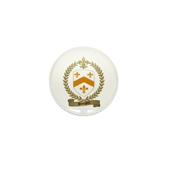 BOURGOIN Family Crest Mini Button (100 pack)