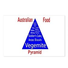 Australian Food Pyramid Postcards (Package of 8)