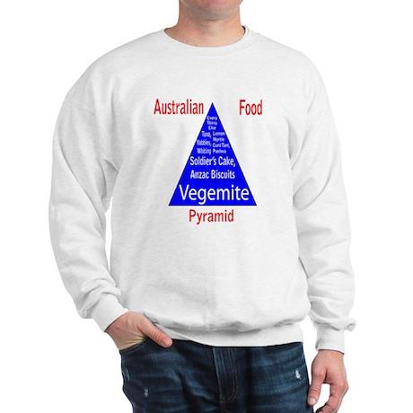 Australian Food Pyramid Sweatshirt