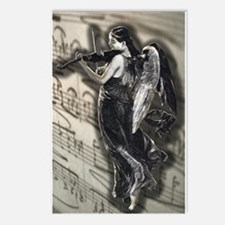 Angelic Fiddler Postcards (Package of 8)