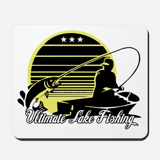 Ultimate Lake Fishing Mousepad