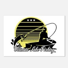 Ultimate Lake Fishing Postcards (Package of 8)
