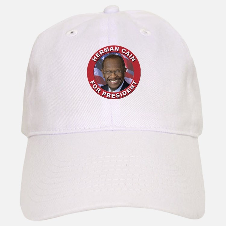 Herman Cain for President Baseball Baseball Cap