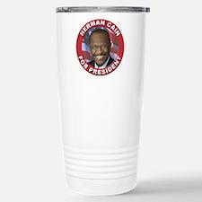Herman Cain for President Travel Mug