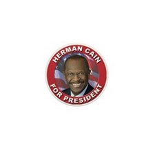Herman Cain for President Mini Button