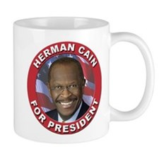 Herman Cain for President Small Mug