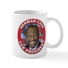 Herman Cain for President Small Small Mug
