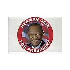 Herman Cain for President Rectangle Magnet