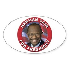 Herman Cain for President Decal