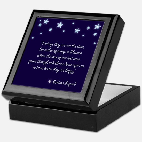 Pet Sympathy Keepsake Box