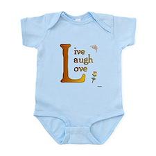 Big L - Live Laugh Love Infant Bodysuit