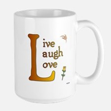 Big L - Live Laugh Love Large Mug